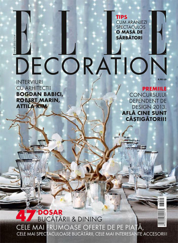 ELLE Decoration, iarnă 2013/ 2014